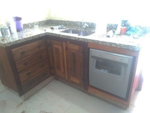 Gabinete De Cozinha Demolição Sob Medida - Foto 2
