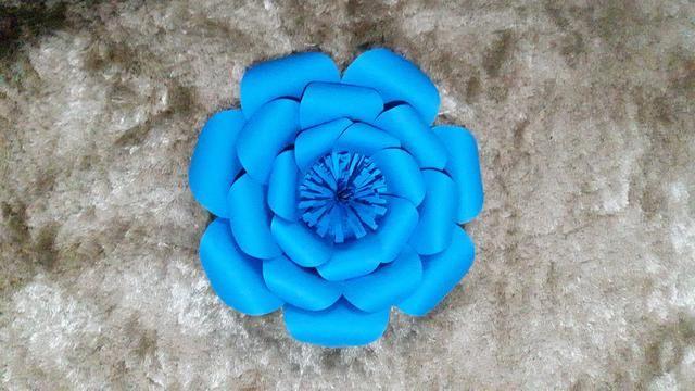 Flores / Flor de papel - Foto 5