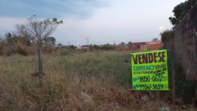 Vendo Terreno Bairro Jardim Botânico VG