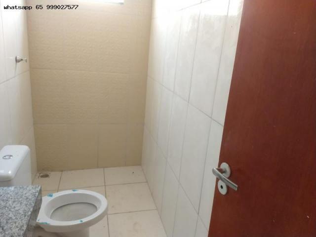 Casa para venda em várzea grande, santa isabel, 2 dormitórios, 1 banheiro, 2 vagas - Foto 12