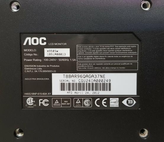 Monitor AOC 18.5' 100% funcional - Foto 2
