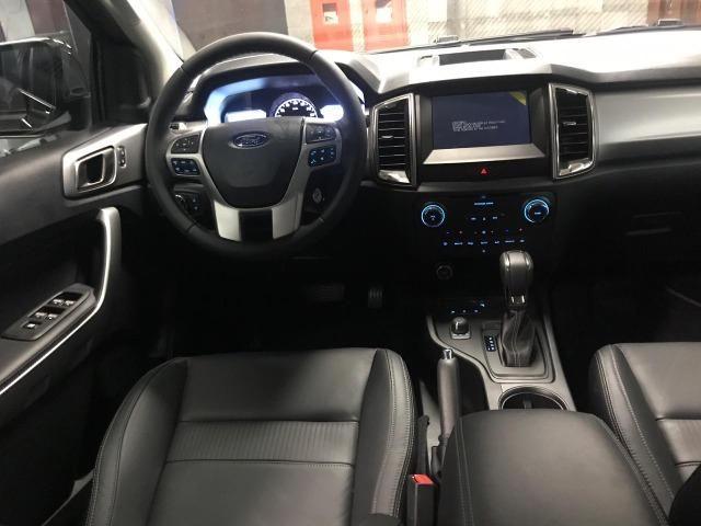 Ford Ranger Cab Dupla XLT 3.2 4x4 AUT - Diesel 2020 0KM - Polyanne * - Foto 11