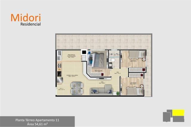 Apartamento 3 dormitórios em São José dos Pinhais - Foto 8