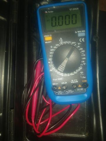 Vendo multímetro digital ET-2042E $150,00 para desapegar ? - Foto 2