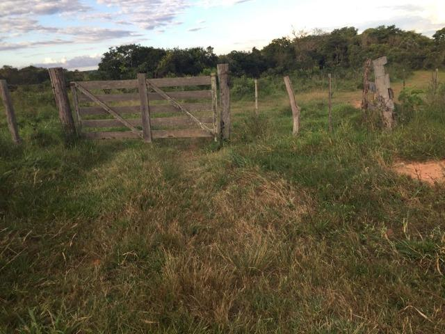 Fazenda c/ 570he, c/ 90% aberto/juquirado, 8km de Itiquira-MT, entrada + 4 parcelas