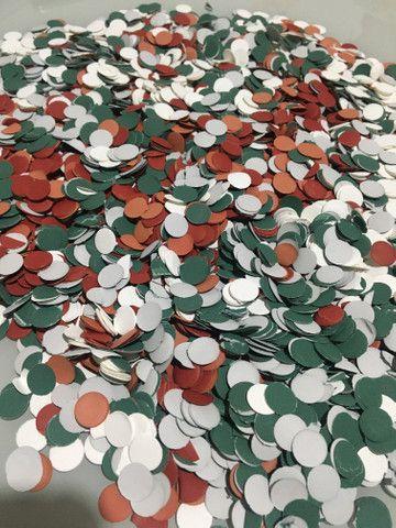 Confetes de Papel com as Cores do seu Time do Coração - Foto 6