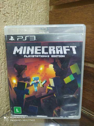 Minecraft para PS3 travado