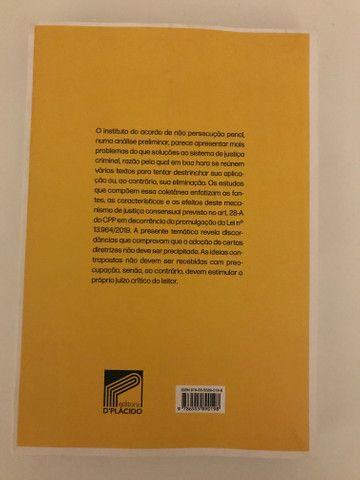 Livro Acordo de não persecução penal - Leonardo Schimitt de Bem e João Paulo Martinelli - Foto 2