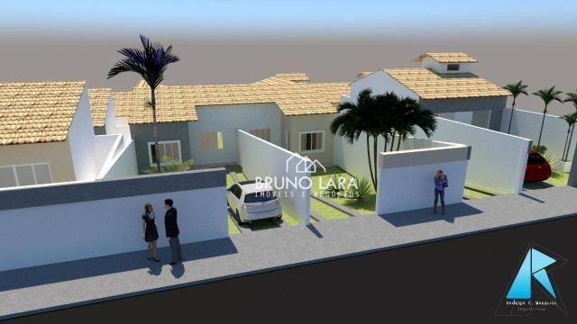Casa com 3 dormitórios à venda, 70 m² por R$ 170.000 - Planalto - Mateus Leme/MG - Foto 2
