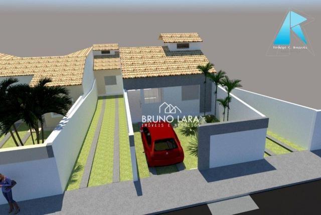 Casa com 3 dormitórios à venda, 70 m² por R$ 170.000 - Planalto - Mateus Leme/MG - Foto 3