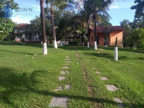 Chácara com 2 dormitórios à venda, 10000 m² por R$ 450.000 - Caluge - Itaboraí/RJ