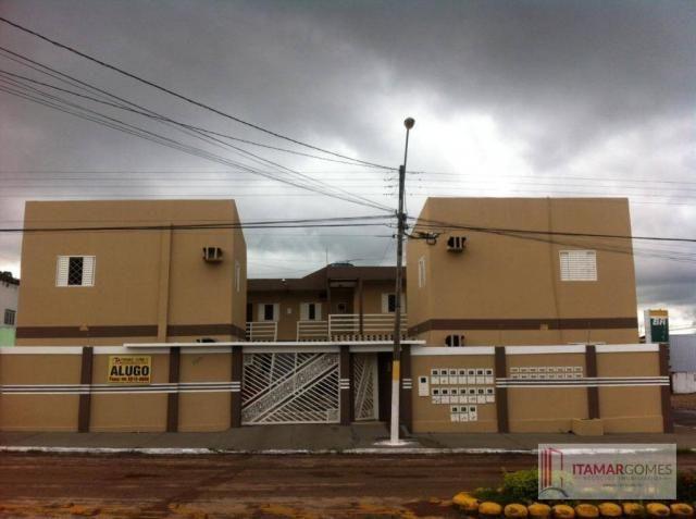 Apartamento com 1 dormitório para alugar por R$ 450/mês - Setor Central - Gurupi/TO