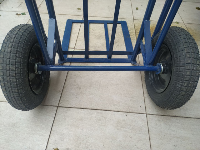 Carrinho de mão carga transporte 500 kilos kg - Foto 4
