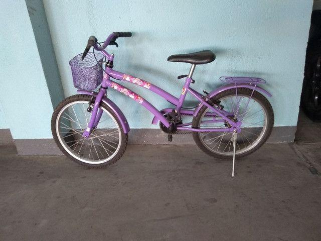 Bicicleta infantil princesa Sophia - Foto 3