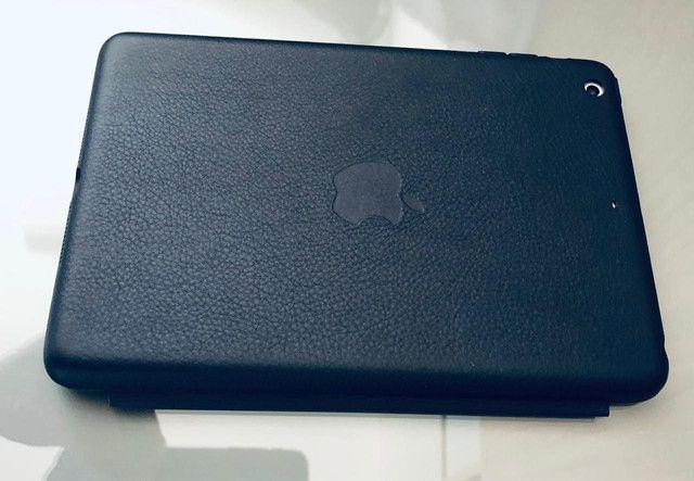 IPad Mini 2 - 32Gb + Smart Case Original Apple de Couro Legítimo Marinho - Foto 6