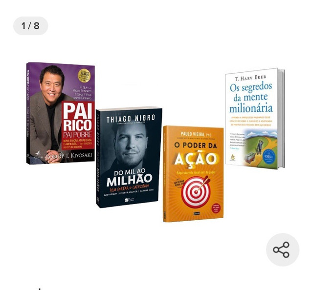 Kit 4 livros ? (não vendo separado, somente o kit - 4 livros)