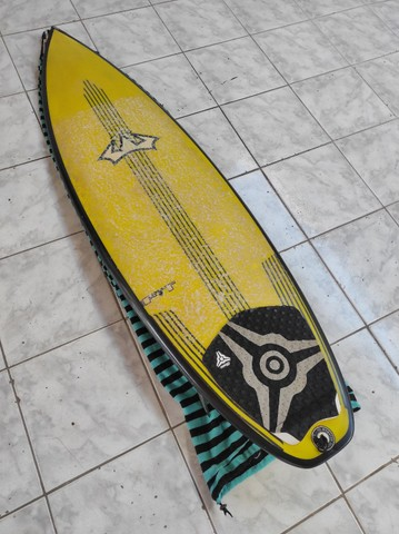 Prancha de Surf Reis FIT 6'0 36.8lts + Quilhas M5 Fibra + Leash 30pés - Foto 2