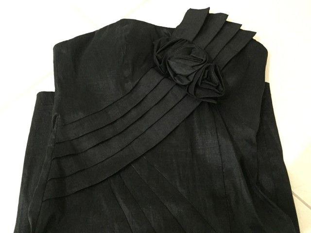 Vestido de festa (preto básico) - Foto 3