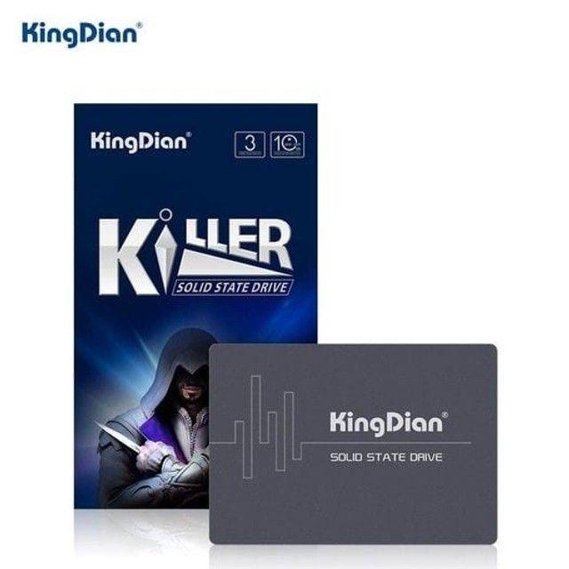 Ssd KingDian 120gb / 128gb / 240gb / 256gb Sata III - Notebook e PC Gamer - Foto 4