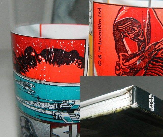 """Livro Ilustrativo """"Darth Vader e Filho"""" + Copo Star Wars - Foto 4"""