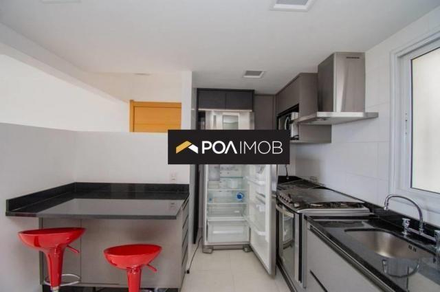 Apartamento com 3 dormitórios para alugar, 93 m² por R$ 3.900,00/mês - Jardim Europa - Por - Foto 10