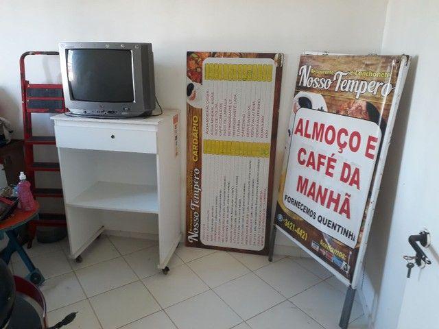 Cavalete placa de preços e balcão para comércio zap. *83 - Foto 2