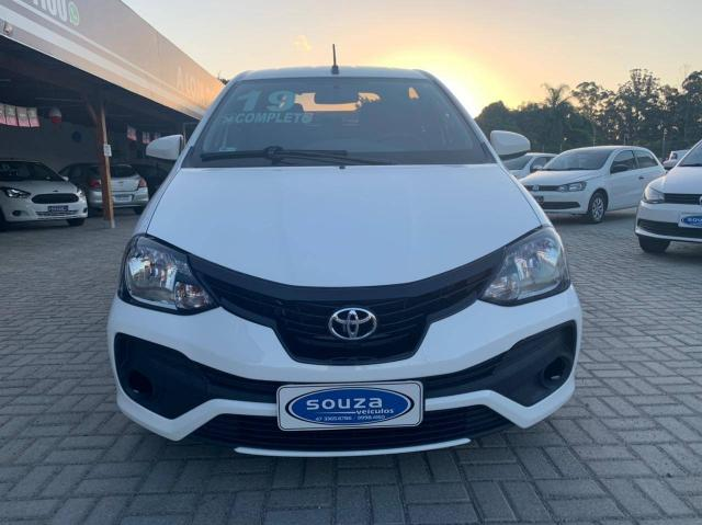TOYOTA ETIOS 2018/2019 1.3 X 16V FLEX 4P MANUAL - Foto 3