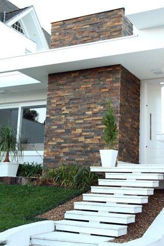Filete de Pedra Ferro Basalto 5cm Natural DoMeuGosto  Pisos e Revestimentos - Foto 3