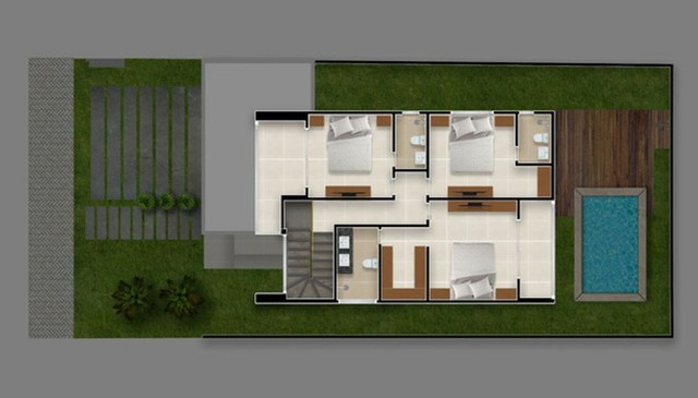 Luxuosa Casa com piscina no Jardins do lago 4 suites #ce11 - Foto 4