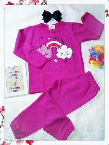 Pijamas menino é menina - Foto 3