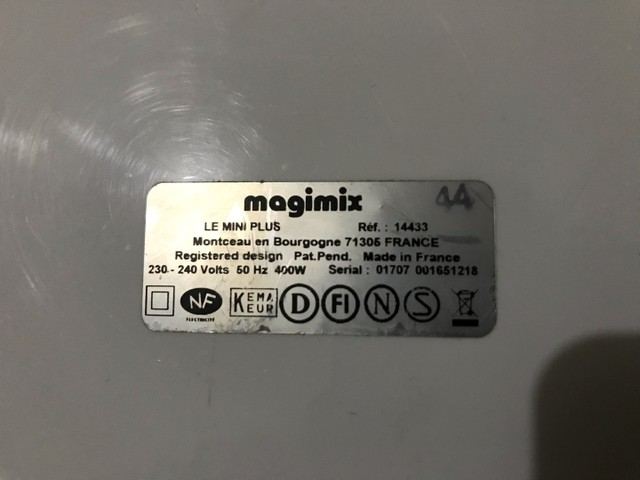 Multiprocessador Magimix Le Mini Plus AUTO - Foto 2
