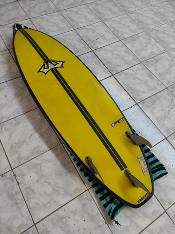 Prancha de Surf Reis FIT 6'0 36.8lts + Quilhas M5 Fibra + Leash 30pés - Foto 3