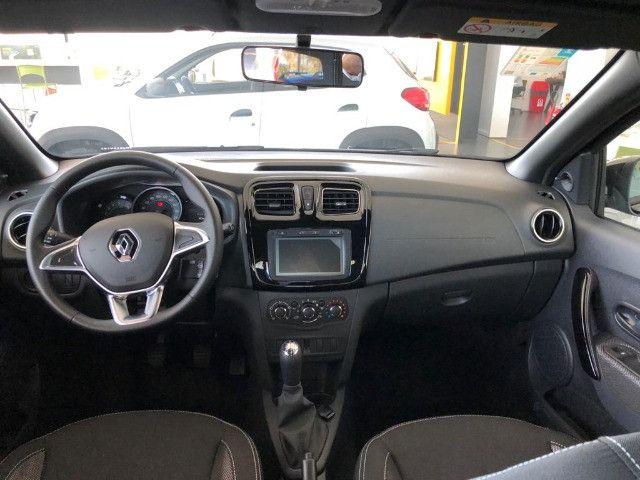 Renault Logan Zen 2022 com Entrada + 48X DE R$ 1.045,00 + parcela final.  - Foto 4