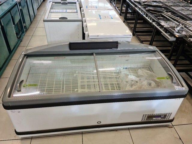 Freezer horizontal c/ display boliado- vendedor Dheyson Paulo  - Foto 3