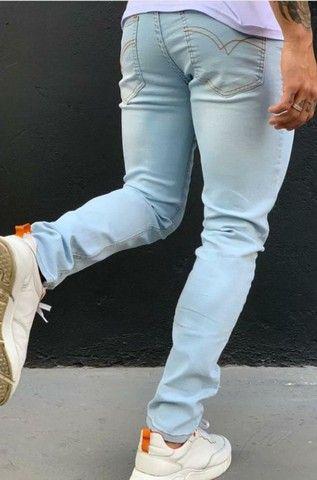 Calça jeans masculina a pronta entrega - Foto 3