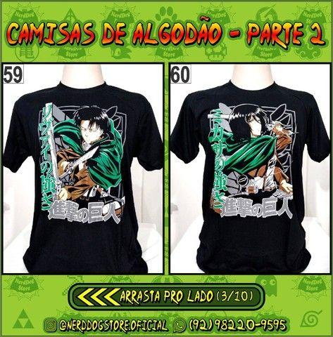 Camisas Geek Nerd Gamer Otaku - NerdDog Store - Naruto, Dragonball, One Piece, etc - Foto 3
