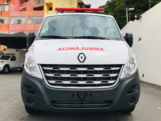 Renault Master Ambulância L1H1 Simples Remoção 2022 - Foto 2