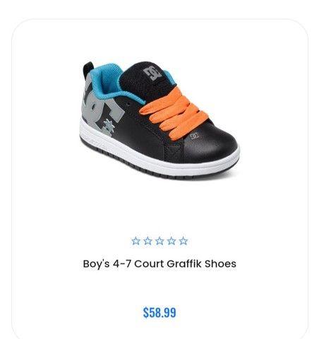 Tênis DC Shoes infantil - Foto 6