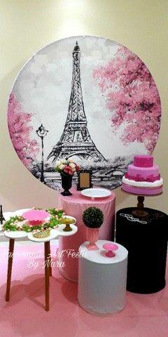 Decoração de festa PARIS - Foto 4