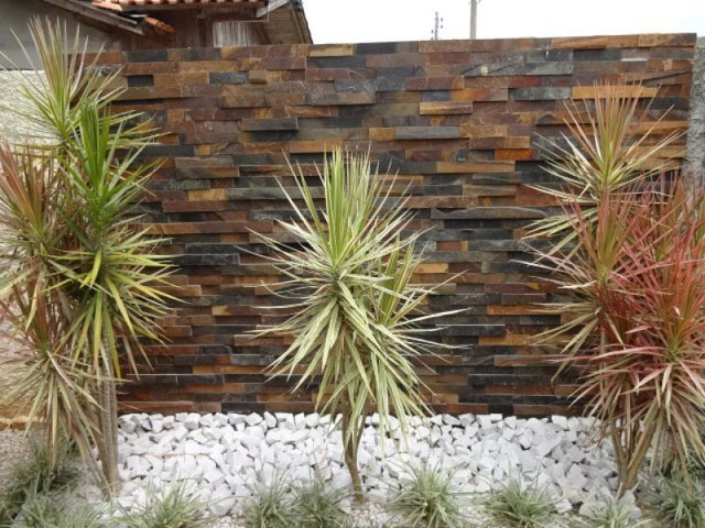 Filete de Pedra Ferro Basalto 5cm Natural DoMeuGosto  Pisos e Revestimentos - Foto 2