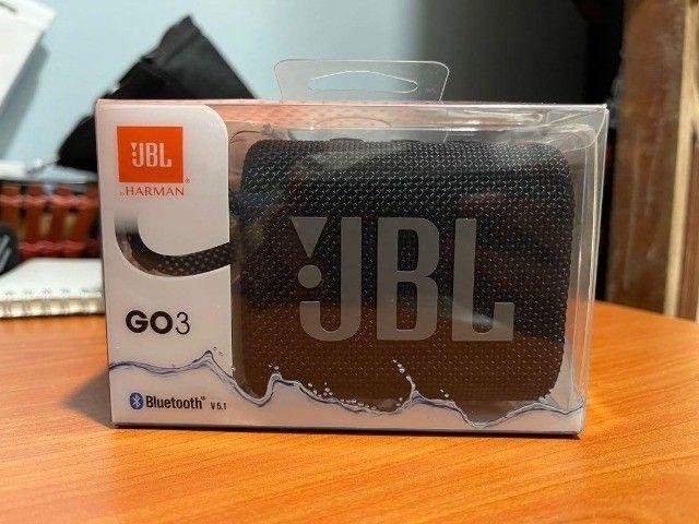Caixa de Som Portátil JBL Go3 Com Bluetooth - Foto 2