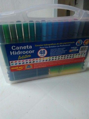 Caneta Hidrocor moLin - Foto 5
