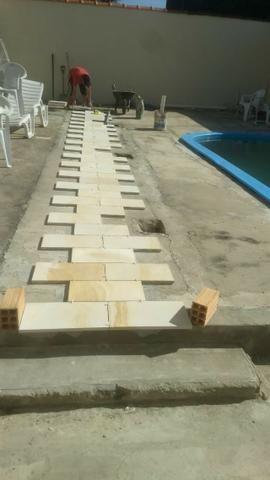 Promoção:Direto da Fábrica X piso para,piscina caxambu X Arenito - Foto 4