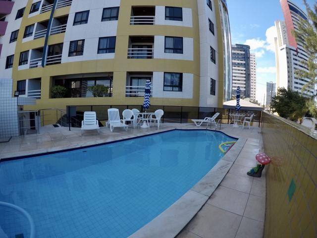 Apartamento no Condomínio Porto Ponta Negra - 1 quarto - amplo, vista mar - Ponta Negra -