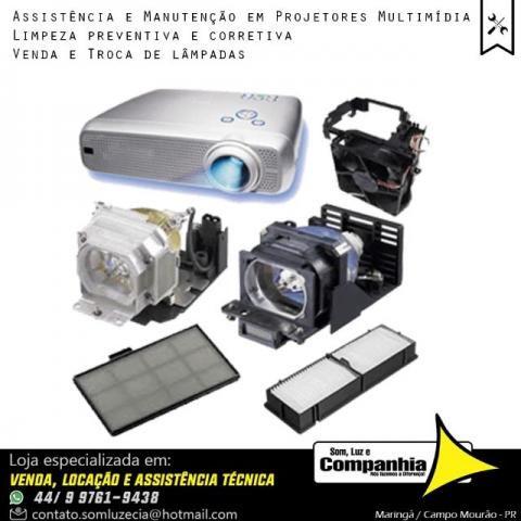 Assistência técnica em Projetor Multimídia datashow de todas marcas - Foto 3