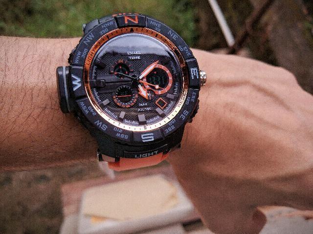 bc57d1f391a Relógio Masculino Original esportivo estilo militar Novo Barato à prova  d água!!!