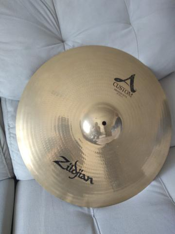 Prato zildjian A custom medium ride 20
