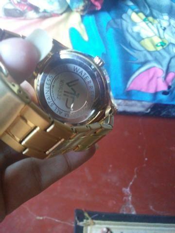 3a5fc4dbd9d Relogio vip dourado original - Bijouterias