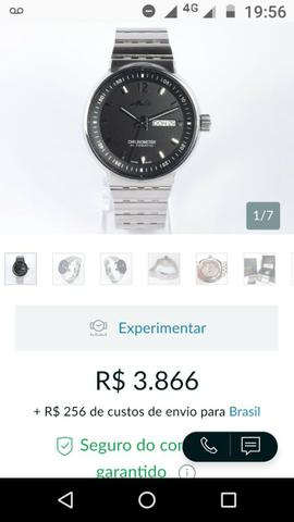 a18cb7a83d6 Relógio original - Bijouterias