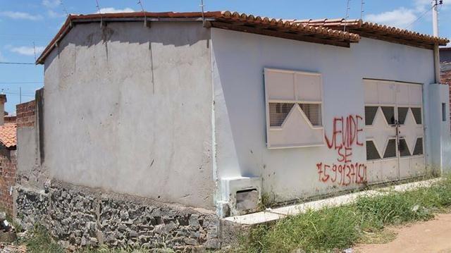 Vendo casa Bairro Feira Nova - Itaberaba